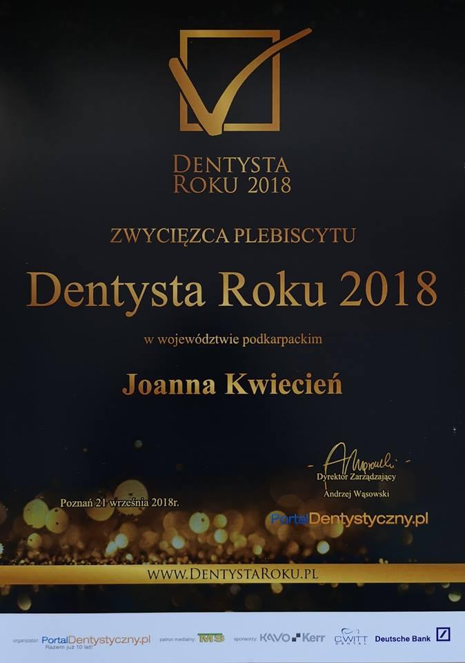 DENTYSTA ROKU
